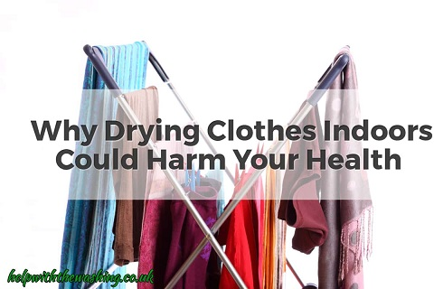 washing clothes indoors harmful