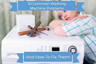 common washing machine problems