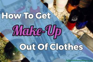 makeup out of clothes