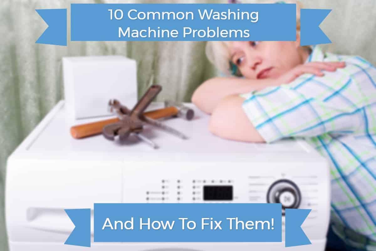 washing machine problems