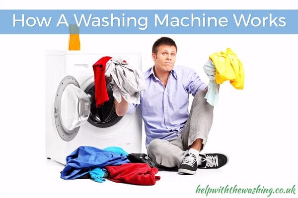 how a washing macine works