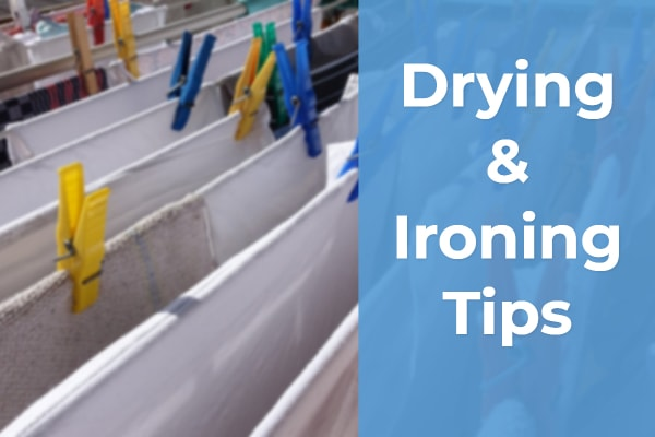 drying ironing tips