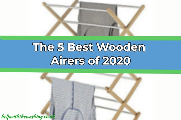 Wooden clothes airers